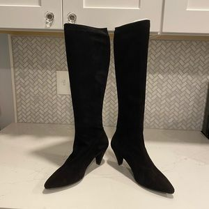 😍 Robert Clergerie Suede Leather French Boots 9